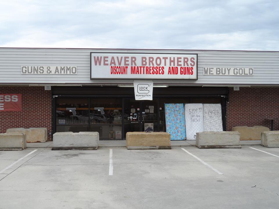 Weaver Brothers Discount Mattresses & Guns | Milledgeville, Ga